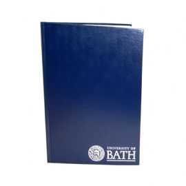 University of Bath Crested manuscript book A4